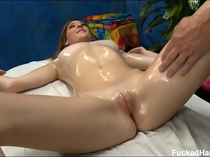 Cute, Massage, Oiled, Old, Sensual, Sexy