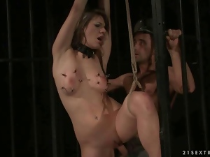 Bdsm, Bondage, Domination, Fucking, Humiliation, Jail, Punish, Tied up