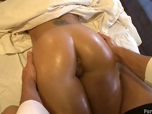 Doggystyle, Massage, Oiled, Sensual
