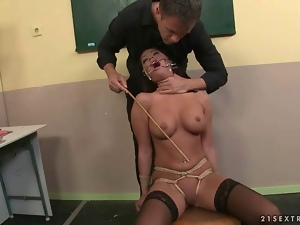 Bdsm, Blowjob, Bondage, Brunettes, Domination, Fucking, Humiliation, Punish, Rough, Schoolgirl uniform