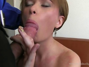 Amateur, Audition, Blowjob, Brunettes, Casting, Cocksucking, Doggystyle, Fucking, Giving head, Shaved, Sofa sex, Sucking