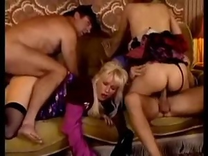 Big tits, Group orgy, Mature