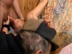 Blowjob, French, Fucking, Gangbang, Old, Old farts