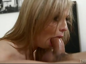 Blondes, Blowjob, Cocksucking, Cumshots, Deepthroat, Giving head, Oral, Pornstars, Sloppy, Throat fucked