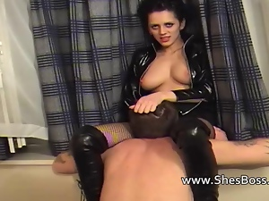 Ass licking, Asshole, Boots, Domination, Face sitting, Latex, Mistress, Oral, Pussy, Rimjob, Worship