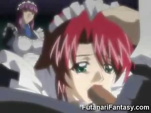 Blowjob, Dirty, Futanari, Hentai, Ladyboy, Maid, Toon