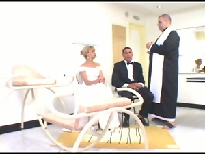 Blondes, Bride, First time, Fucking, Milf, Wedding
