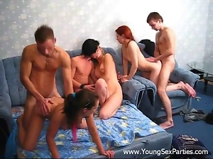 Babes, Group orgy, Group sex, Orgasm, Sexy, Teens