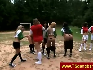 Football, Game, Shemales, Strip, Tranny