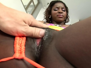 Babes, Bitch, Black, Ebony, Female ejaculation, Fucking, Pornstars, Squirting