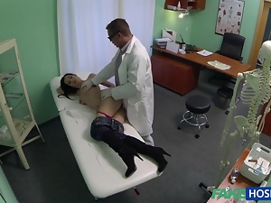 Ass, Blowjob, Breast, Cocksucking, Fucking, Giving head, Hospital, Jeans, Milf, Penetrating, Pounded, Sexy, Sucking