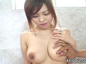 Asian, Big tits, Blowjob, Close up, Exotic, Jacuzzi, Japanese, Oriental, Uncensored
