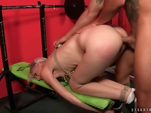 Bdsm, Blondes, Bondage, Domination, Fucking, Gym, Humiliation, Punish, Tied up