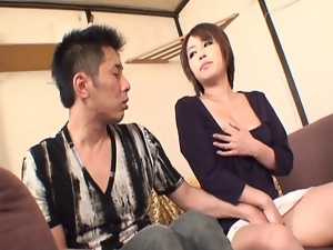 Asian, Caught, Japanese, Mature, Milf, Mom, Watching