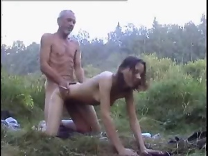Babes, Brunettes, Dad girl, Mom girl, Outdoor, Teens, Ugly