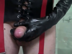 Amateur, Crossdressing, Dildo, Gay, Masturbating, Rubber, Stockings