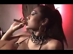 Cigarette, Dominatrix, Ladyboy, Shemales, Smoking