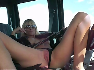 Amateur, Car, Funny, Masturbating, Mature