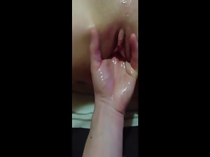 Amateur, Fingering, Masturbating, Moaning, Squirting, Voyeur, Wife