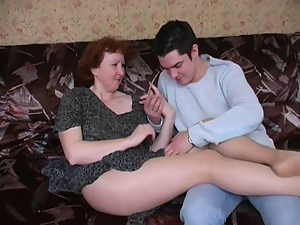 Amateur, Hairy, Mature, Mom, Pantyhose, Russian