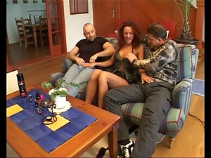 Anal, Double penetration, German, Group sex, Mature