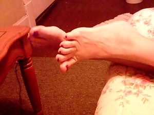 Amateur, Feet, Foot fetish, Mature, Milf