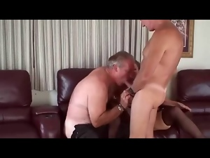 Amateur, Bisexual, Couple, Granny