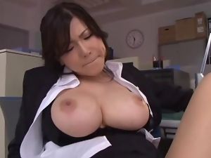 Asian, Big tits, Cumshots, Japanese, Office