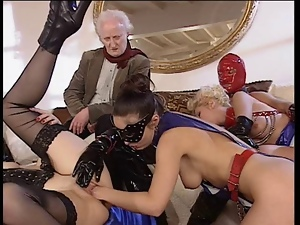Anal, Cumshots, Funny, Group sex, Kinky, Latex, Vintage