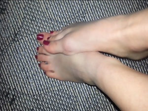 Amateur, Babes, Feet, Foot fetish, Tease, Wife