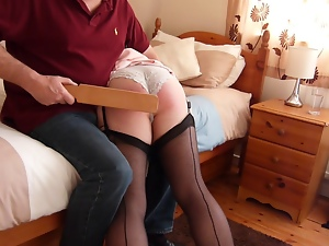 Amateur, Bdsm, Crossdressing, Gay, Paddled, Spanking