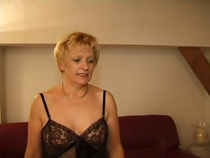 Blondes, French, Mature, Milf, Mom, Young