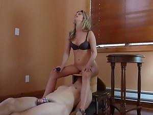 Dick, Electrified, Face sitting, Femdom