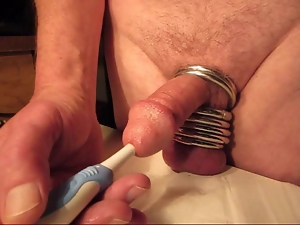Close up, Gay, Masturbating, Orgasm, Sex toys, Vibrator