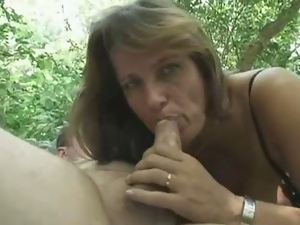 Amateur, Blondes, European, Forest, Hardcore, Milf, Mom, Outdoor, Park sex, Reality