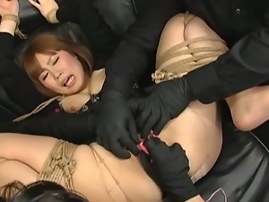 3some, Asian, Bondage, Dungeon, Femdom, Humiliation, Japanese, Mistress, Slave, Threesome, Torture, Uniform