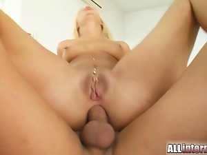 Anal, Ass creampie, Ass fucking, Big butt, Big cock, Blondes, Creampie, Gaping hole, Hardcore