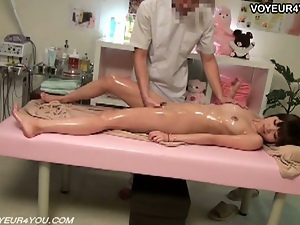 Amateur, Brunettes, Homemade, Japanese, Massage, Oiled, Oriental