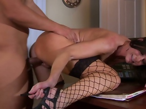 Babes, Beautiful, Big butt, Blowjob, Boss, Brunettes, Hardcore, Pornstars, Pussy, Stockings, Story, Trimmed pussy