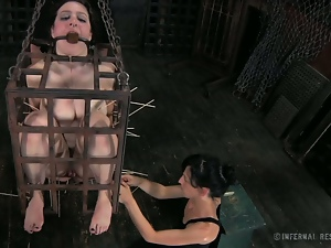 Babes, Bdsm, Beautiful, Big butt, Brunettes, Dungeon, Glamour, Humiliation, Pain, Slave, Torture