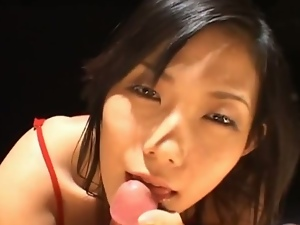 18 year old, 19 year old, Asian, Blowjob, Cum in mouth, Cum swallowing, Cumshots, Deepthroat, Innocent, Japanese, Teens, Young