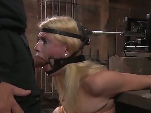 Bdsm, Blowjob, Bondage, Cowgirl, Deepthroat, Dungeon, Face fucked, Gagging, Hardcore, Humiliation, Machine sex, Milf, Missionary, Pain, Pornstars, Torture
