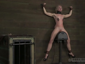 Bdsm, Blondes, Bondage, Dungeon, Hd, Humiliation, Pain, Sex toys, Slave, Sybian, Torture