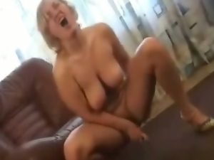 Big natural tits, Big tits, Blondes, Busty, Dildo, European, Masturbating, Pussy, Russian, Sex toys, Solo, Strip, Tease, Vibrator