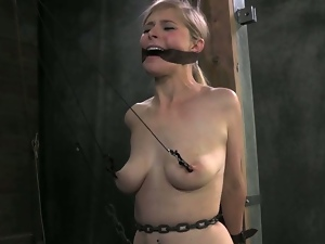 18 year old, 19 year old, Bdsm, Blondes, Bondage, Dungeon, Fetish, Hd, Humiliation, Pain, Pornstars, Slave, Teens, Torture, Young