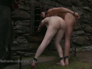 Bdsm, Bondage, Dungeon, Farm, Fetish, Humiliation, Lesbian, Outdoor, Slave, Spanking, Torture, Whip