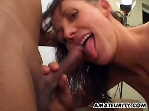 3some, Amateur, Ball licking, Brunettes, Cowgirl, Cum covered, Cum in mouth, Cum swallowing, Dildo, Double blowjob, Facials, Group orgy, Hardcore, Homemade, Messy facials, Milf, Missionary, Mmf, Mom, Sex toys, Stepmom, Threesome
