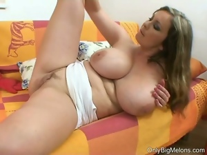 Babes, Big tits, Blondes, Busty, Chubby, Cute, Fat, Masturbating, Posing, Solo, Tease