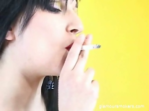 Babes, Beautiful, Brunettes, Emo, Fetish, Glamour, Smoking