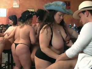 Bbw, Big tits, Busty, Chubby, Fat, Fat mature, Group orgy, Group sex, Huge tits, Massive tits, Mega tits, Orgy, Outdoor, Plumper